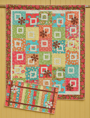 Sweet Pea Quilt and Runner