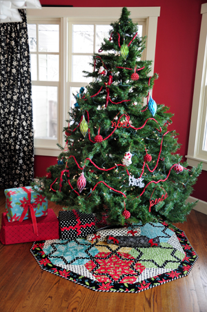 Starlit Evening Tree Skirt