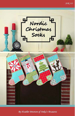 Nordic Christmas Socks